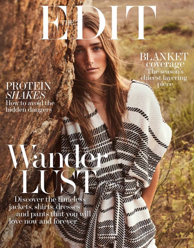 Josephine le Tutour on The Edit January 5, 2017 Cover