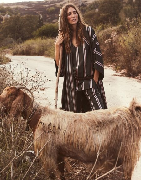 Josephine le Tutour Looks Nomadic Chic in The Edit