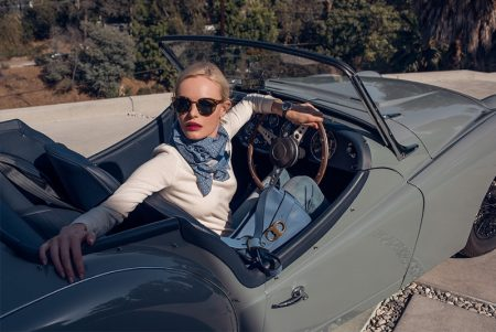 Kate Bosworth Looks Chic with Tory Burch's 'Gemini Link' Collection