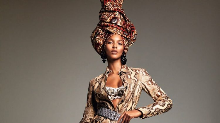Lais Ribeiro Rocks the Spring Collections for Vogue Brazil