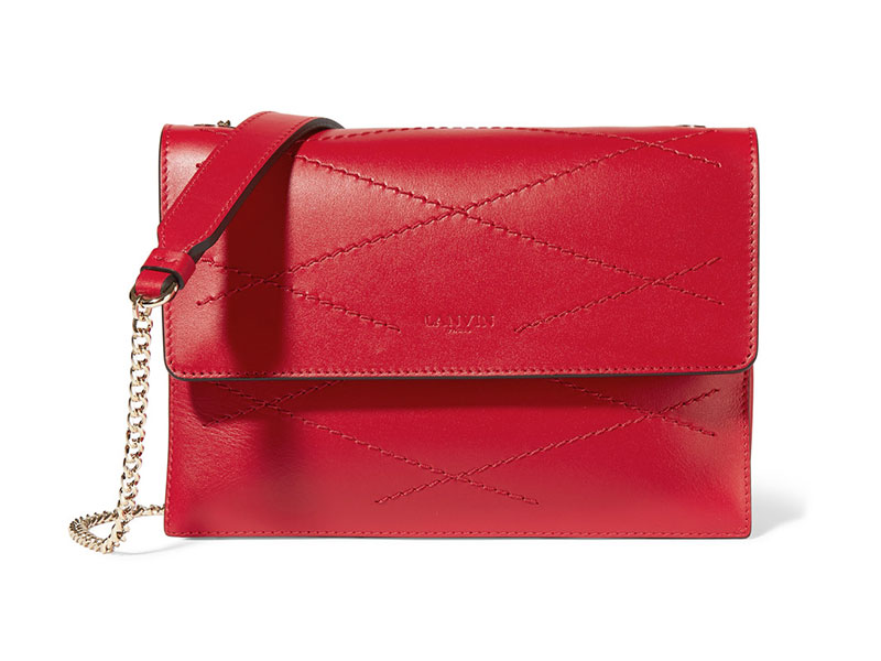 Lanvin Sugar Mini Quilted Leather Shoulder Bag