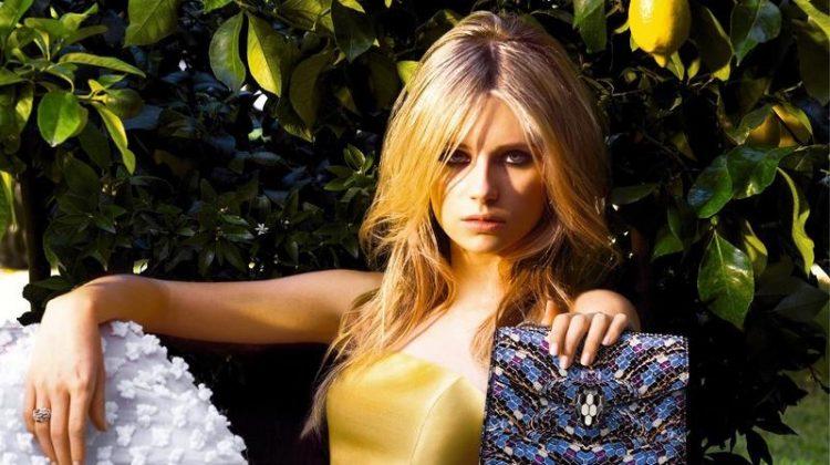 Lottie Moss stars in Bulgari's spring-summer 2017 accessories campaign