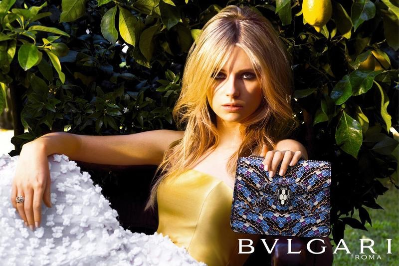 Lottie Moss Goes on a Roman Holiday in Bulgari Accessories Campaign