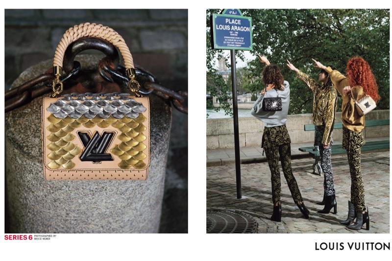 Bruce Weber photographs Louis Vuitton's spring 2017 campaign