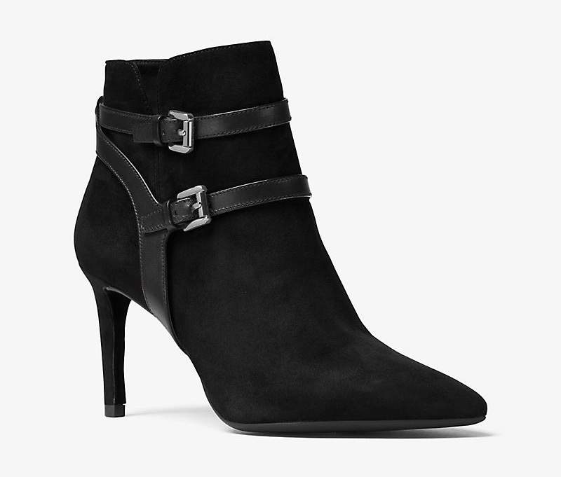 MICHAEL Michael Kors Fawn Leather & Suede Ankle Boot