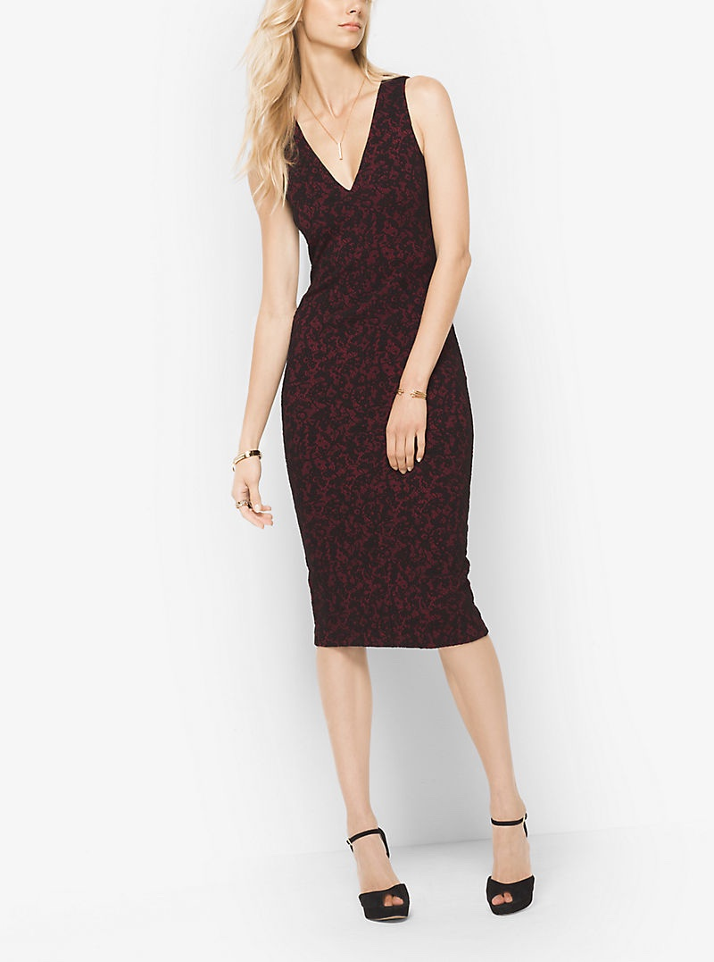 MICHAEL Michael Kors Lace Jacquard Dress