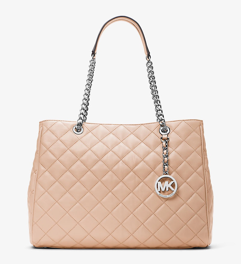 MICHAEL Michael Kors Susannah Large Quilted Leather Tote