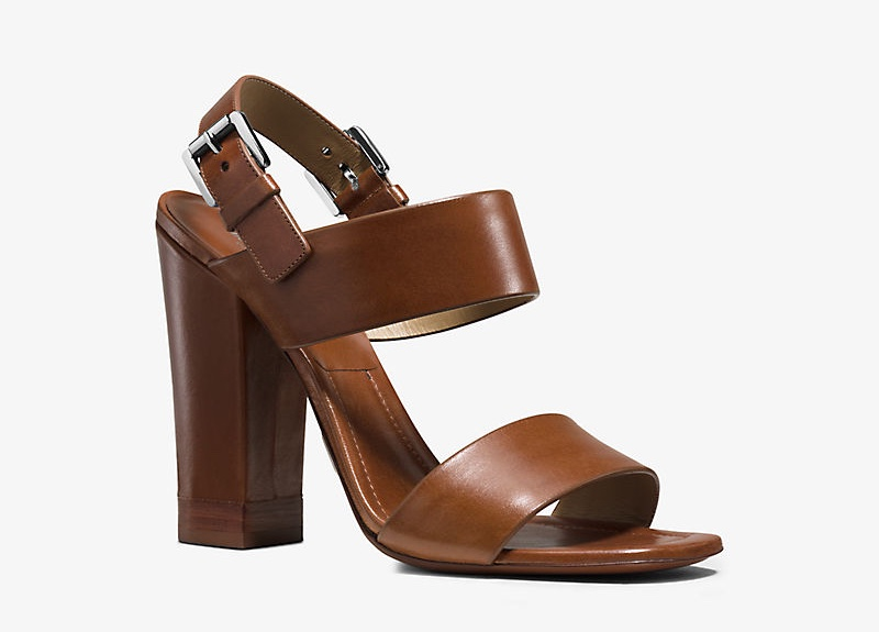 MICHAEL Michael Kors Thelma Leather Sandal