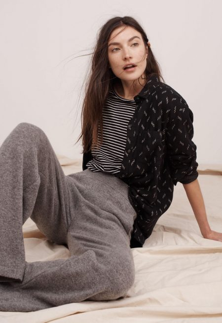Jacquelyn Jablonski Keeps It Cool in Madewell's New Season Styles