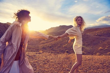 Mango Heads Outdoors for Dreamy Spring '17 Campaign