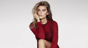 Maryna Linchuk Has Us Seeing Red in TELVA Cover Story
