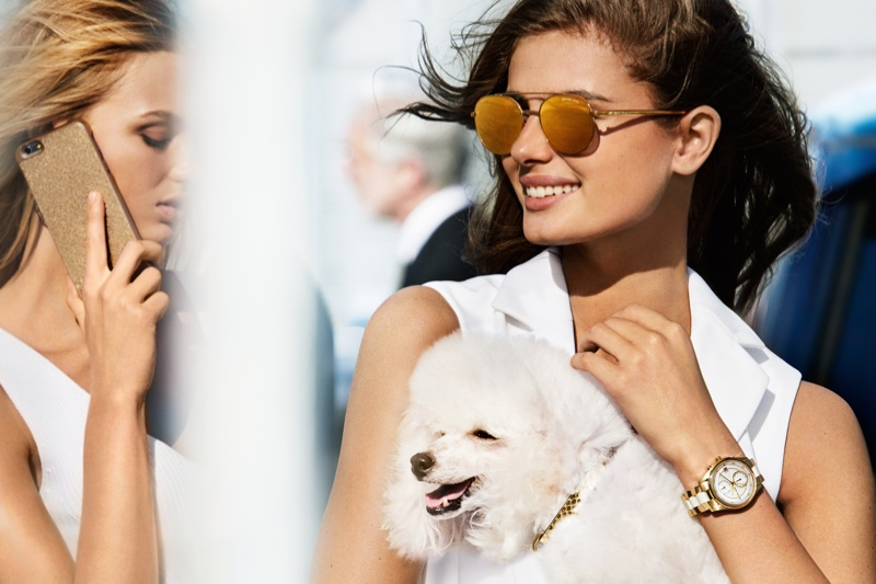 Taylor Hill stars in MICHAEL Michael Kors spring-summer 2017 campaign