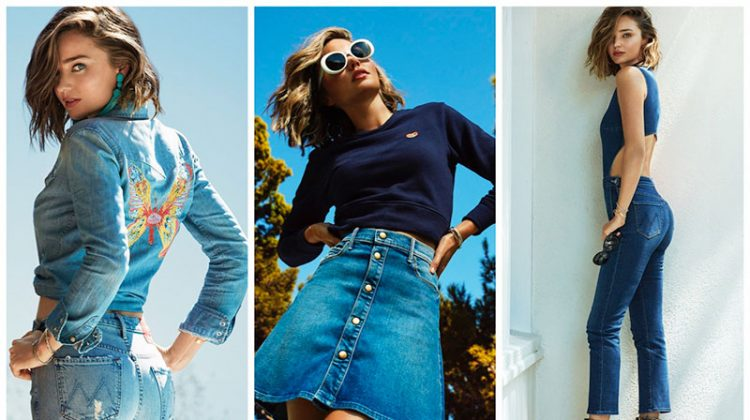 Miranda Kerr's collaboration for MOTHER Denim