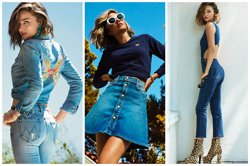 Miranda Kerr Designed the Coolest Jeans with Mother Denim