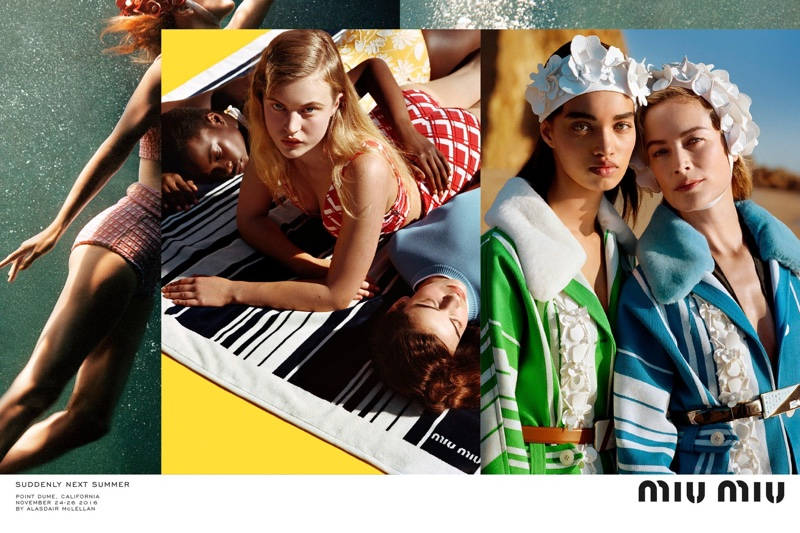 Miu Miu unveils spring 2017 advertising campaign