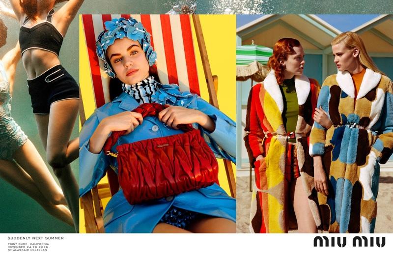 73faa9186a94 ... Alasdair McLellan photographs Miu Miu s spring-summer 2017 campaign