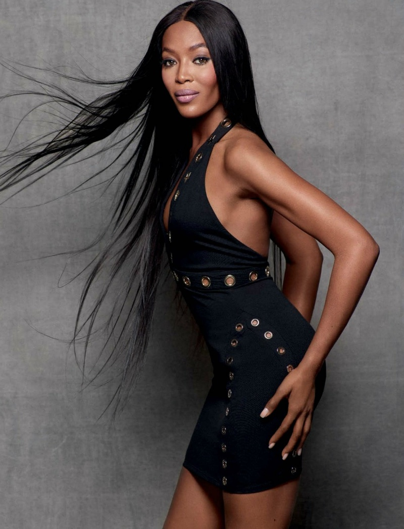 Naomi Campbell Looks Smokin Hot In The Pages Of Gq Germany