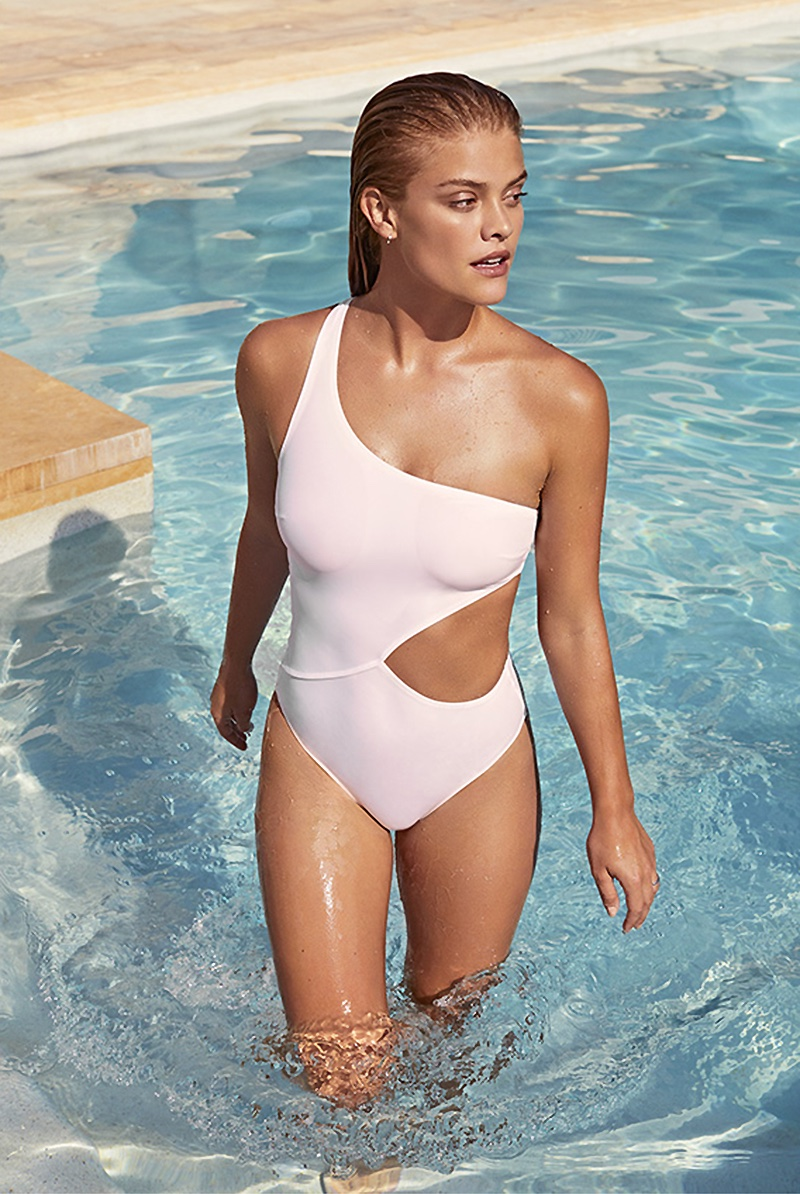 Nina Agdal Models the Latest Swimwear Styles for Shopbop