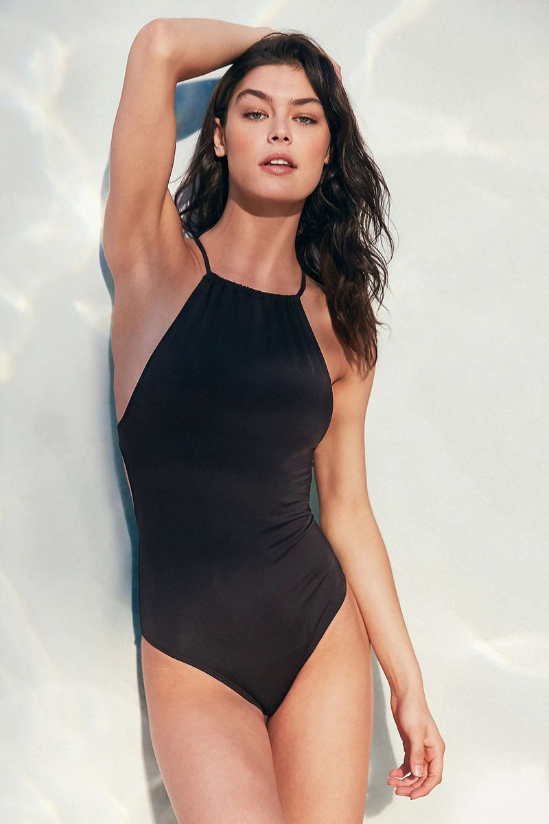 0a6218972d2dc Out From Under High Neck One-Piece Swimsuit Shop | Fashion Gone Rogue