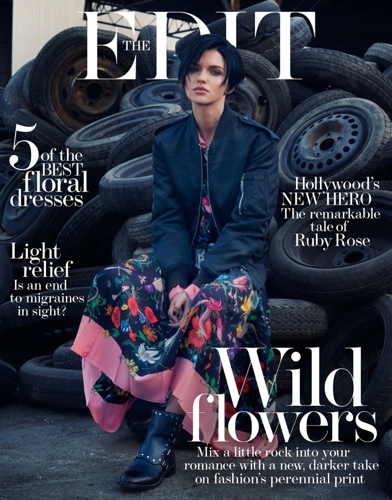Ruby Rose on The Edit January 19th, 2017 Cover