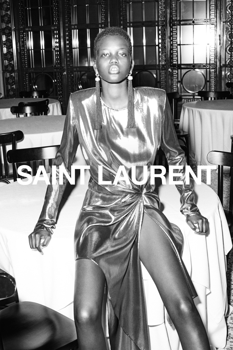 46809450de8 ... Saint Laurent launches the spring 2017 campaign Saint Laurent launches  the spring 2017 campaign Freja Beha Erichsen poses ...