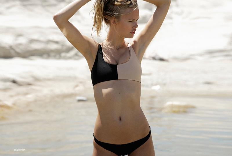 Emma Stern Nielsen models Tori Praver Swimwear Eloise top