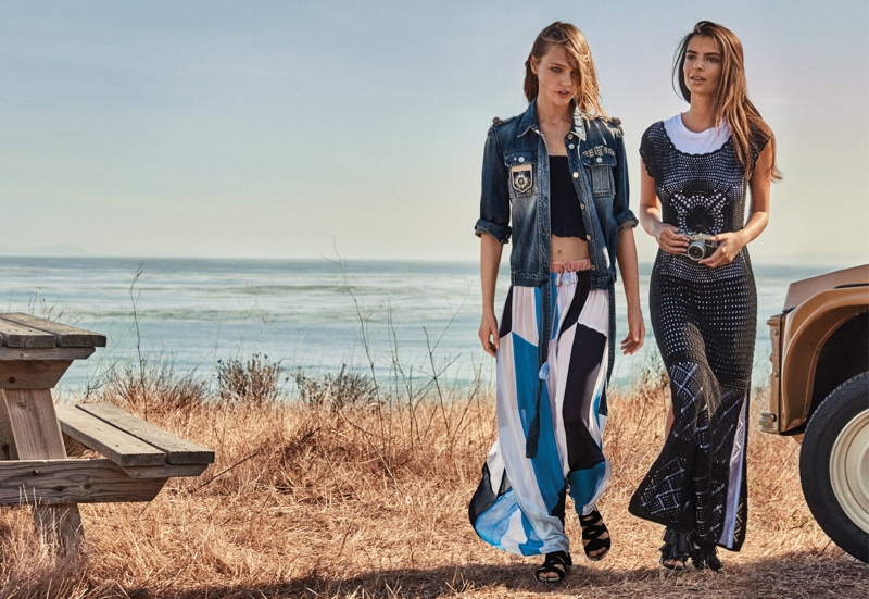An image from Twin-Set's spring 2017 advertising campaign