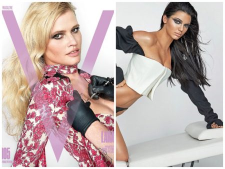 Kendall Jenner, Lara Stone + More Flaunt Their Tattoos on V Magazine Covers