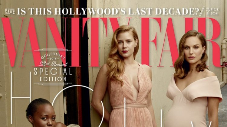 Emma Stone, Lupita Nyong'o, Amy Adams and Natalie Portman on Vanity Fair 2017 Hollywood Issue Cover