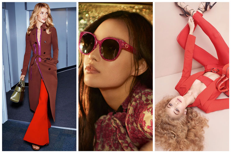 Week in Review | Gigi Hadid for Max Mara, Rosie Huntington-Whiteley's Airport Style, Gucci Eyewear + More