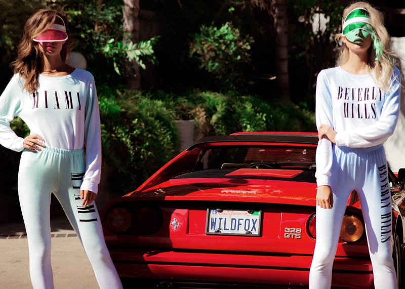 Miami or Beverly Hills? Wildfox gets glam with athleisure styles
