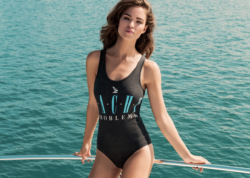 Get ready to set sail with Wildfox's nautical bodysuit