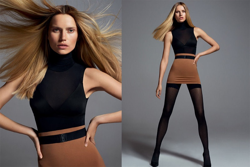Cato Van Ee stars in Wolford's spring-summer 2017 campaign