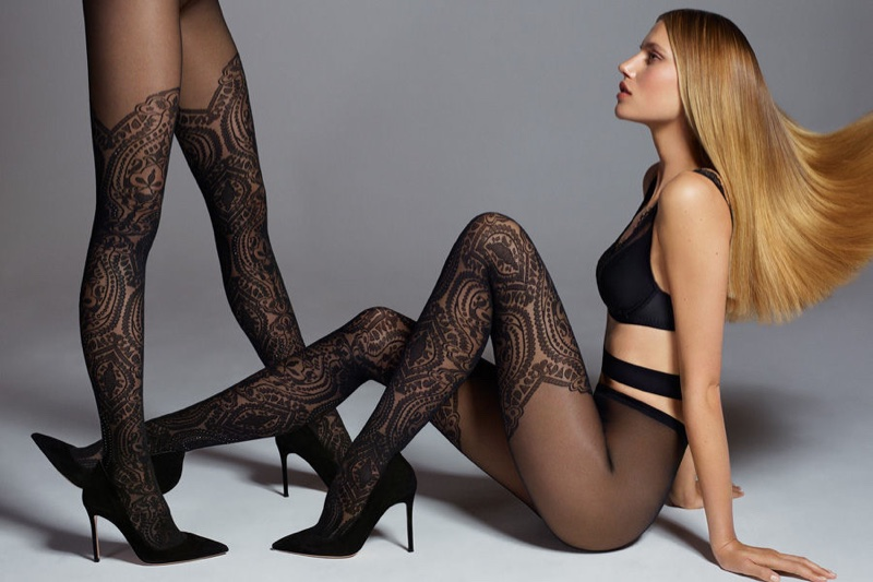 Wolford features its famous hosiery in spring 2017 campaign