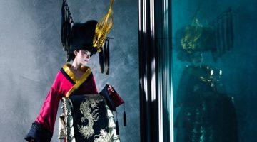 Yui Nikaido Models Junko Koshino's Dramatic Designs for S Moda