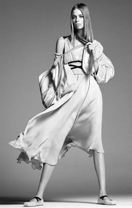 Steven Meisel Shoots Zara's Black & White Spring 2017 Campaign