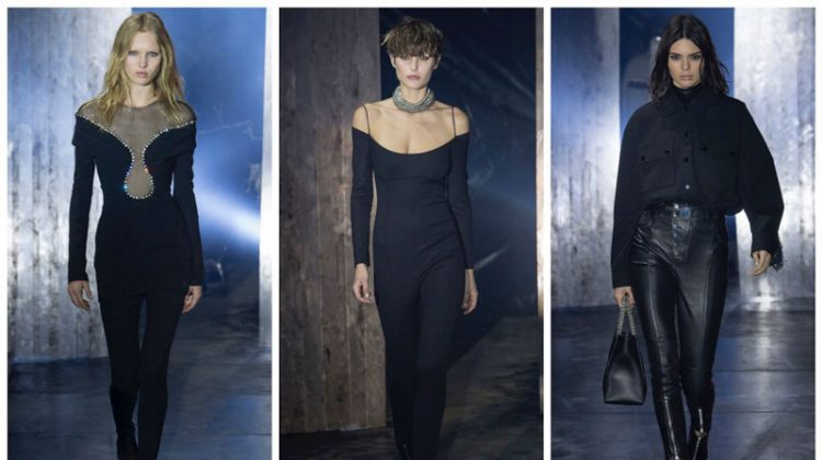 Alexander Wang Paints It Black for Fall 2017