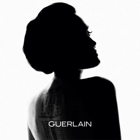 Actress Angelina Jolie named the new face of Guerlain