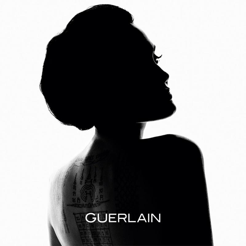 Angelina Jolie Stuns in 'Mon Guerlain' Fragrance Ad