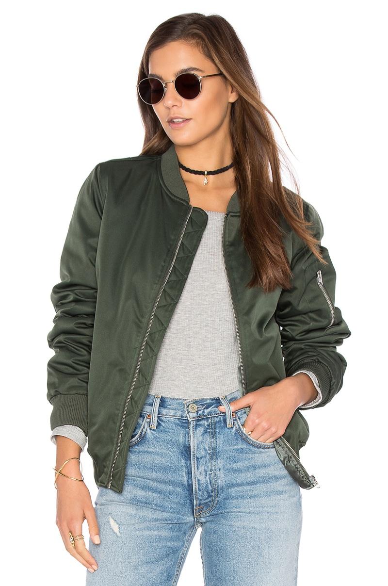 Wish List: Keep it Cool in BB Dakota's Atwood Bomber Jacket