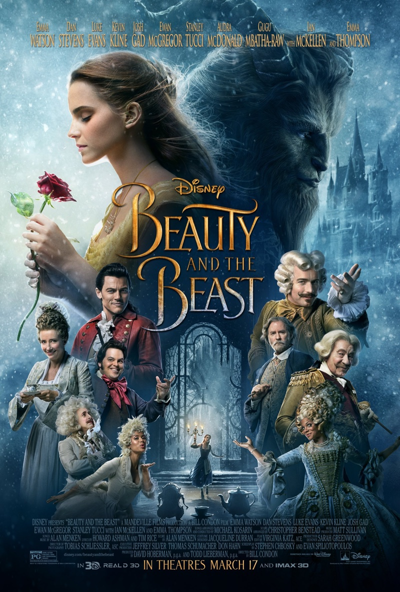 Beauty and the Beast movie poster. Photo: Disney