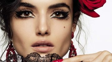 Blanca Padilla Looks Pretty in Lace for Vogue Spain Beauty Spread