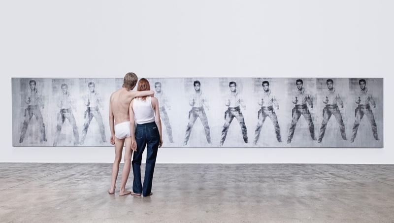 Calvin Klein Celebrates Art with American Classics Campaign
