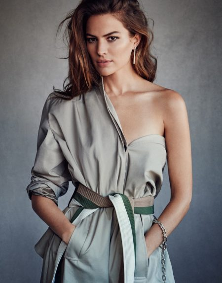 Cameron Russell Takes on the Utilitarian Trend for The Edit