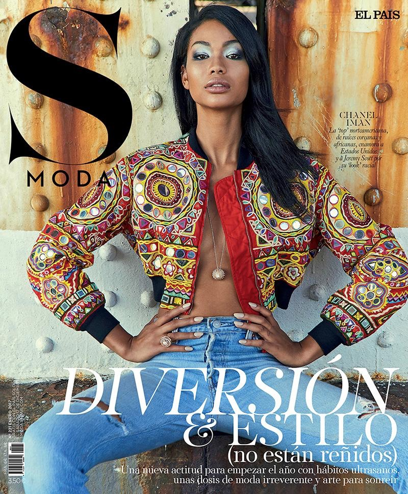 Chanel Iman on S Moda February 2017 Cover