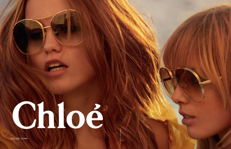 An image from Chloe's spring 2017 eyewear campaign