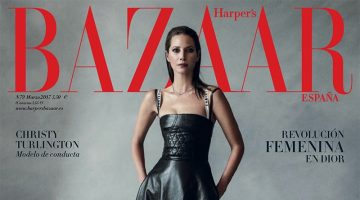 Christy Turlington Looks Beyond Elegant in Harper's Bazaar Spain
