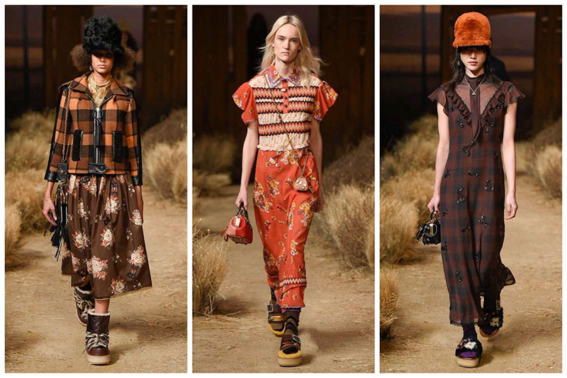 Coach Goes Prairie Chic with Fall 2017 Collection