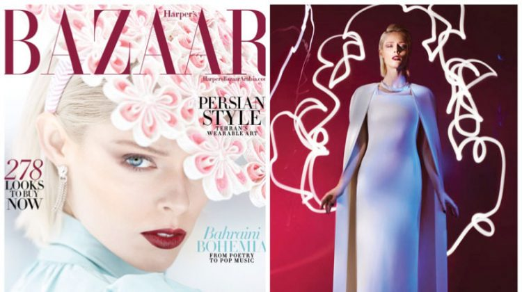 Coco Rocha Turns Up the Glam Factor for Harper's Bazaar Arabia