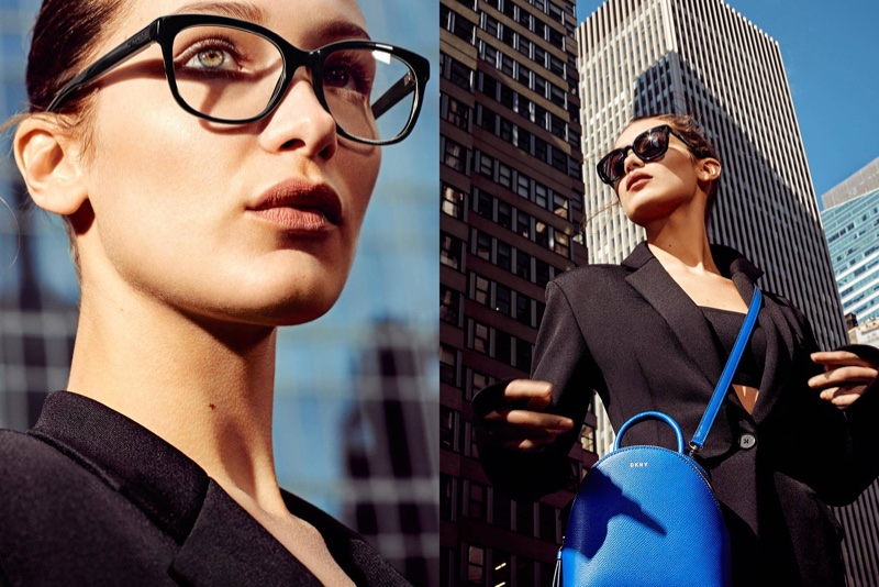 Bella Hadid Continues to Rule Campaign Season with DKNY's Spring Ads